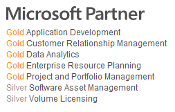 Microsoft latest competencies 2015