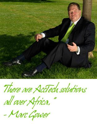 brainstorm AccTech's unique African business model