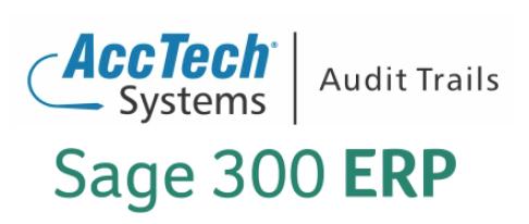 Audit Trails.Sage300ERP
