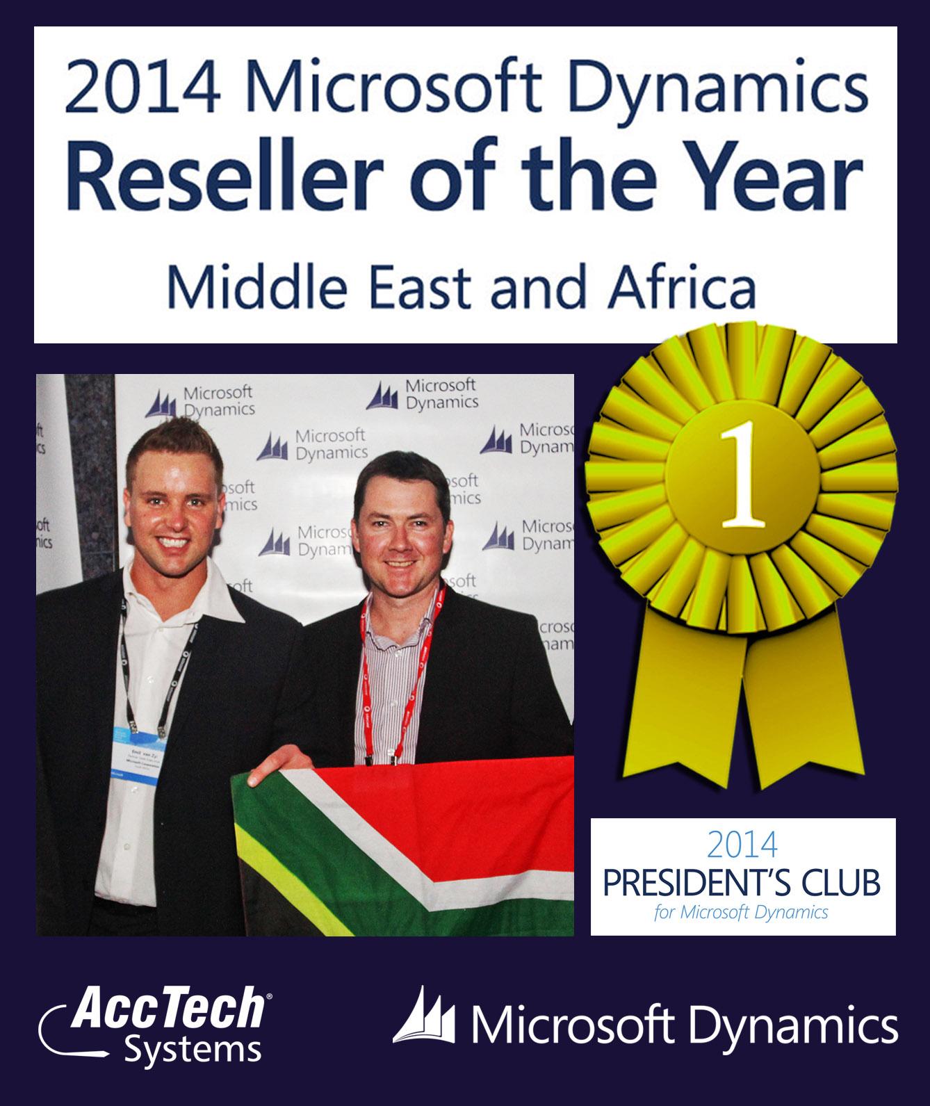 regionl partner of the year 2014
