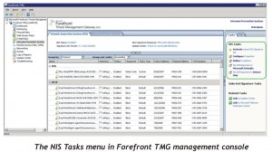 Forefront TMG Management Control