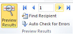 step6 - Preview Results, Microsoft Outlook