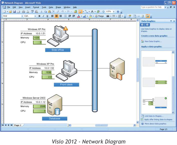 Visio 2012 - Network Diagram
