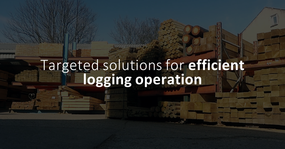 Targeted Solutions for more efficient logging